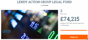 Lendy action group crowdfunding