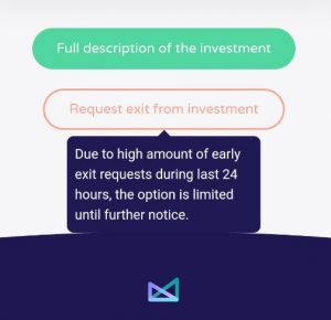 Wisefund early exit