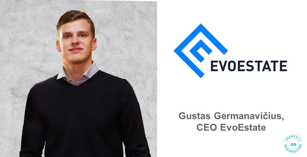 Gustas Germanavičius, CEO de EvoEstate